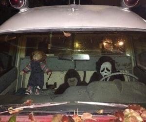 Chucky, scream, and Halloween image