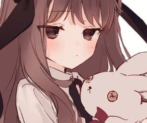 anime, bunny, and doll image