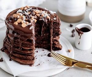 sweet, dessert, and pancakes image