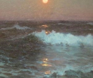 aesthetic, art, and ocean image