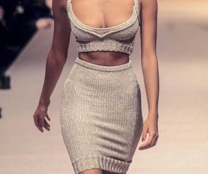 fashion, 90s, and runway image