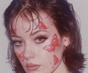 art, makeup, and vintage image