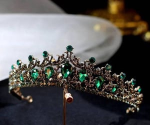 crown, crystal, and emerald image