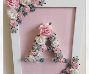 diy, flower, and pink image