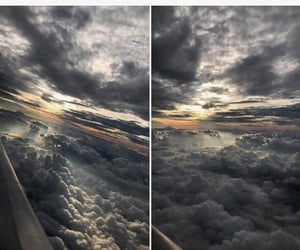 earth, clouds, and view image