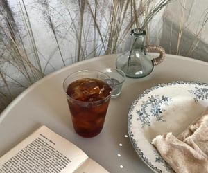 chic, drink, and food image