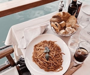 drink, food, and dinner image
