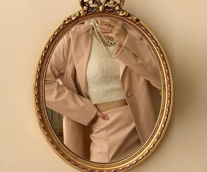 fashion, home, and gold mirror image