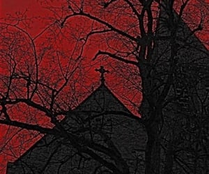 black, goth, and dark image