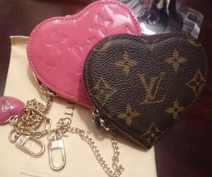 bag, Louis Vuitton, and heart image