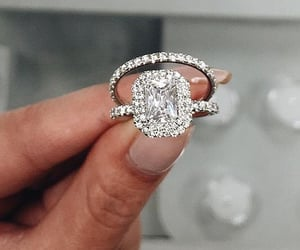 diamonds, engagement, and girly image