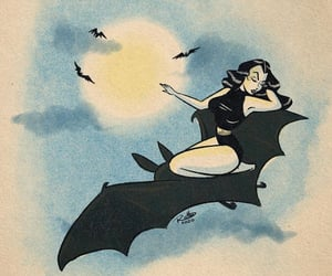 bats, good, and omen image