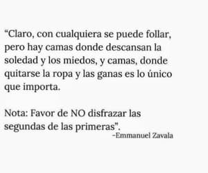 Camas, favor, and letras image