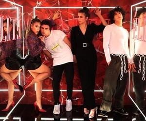 elite, danna paola, and jorge lopez image