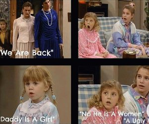 cool, full house, and funny image