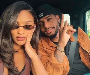 couple and bryson tiller image