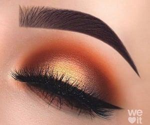 glam, brillo, and anaranjado image