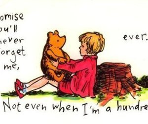 winnie the pooh, quote, and pooh image