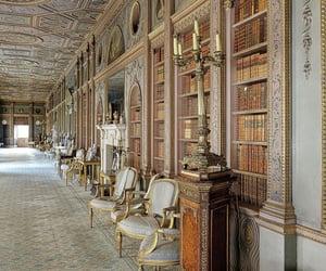 baroque, books, and carpet image