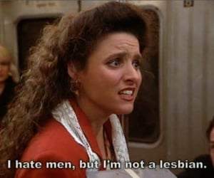 hate, lesbian, and men image