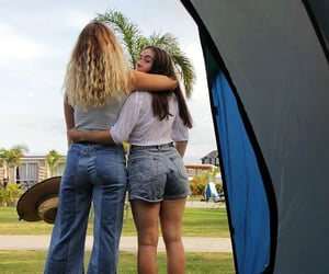 camping, chill, and teen image
