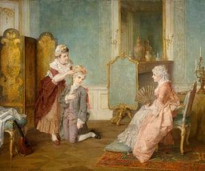 art, baroque, and countess image