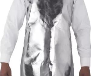 aluminized aprons and silicone coated image