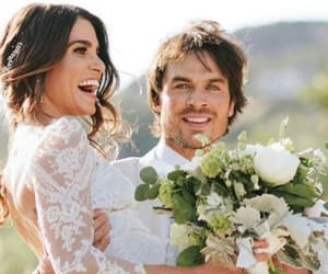 lovely wedding, ian nikki, and twilight vampire diaries image