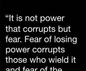 criminals, fear, and power image