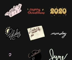 2020, addict, and calligraphy image