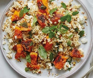 food, healthy, and couscous image