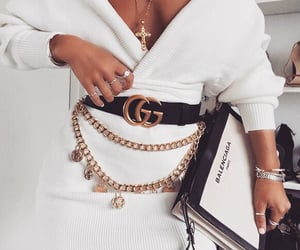 Balenciaga, gucci belt, and belt image