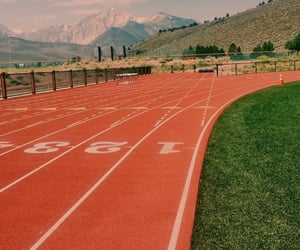 athletics, sport, and track and field image
