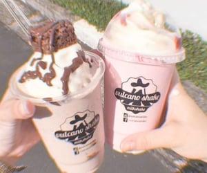 carefree, drink, and milkshake image