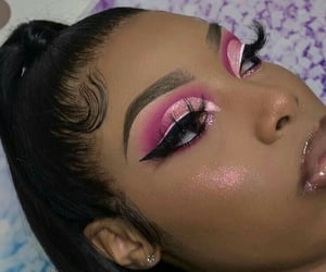 beauty, edges, and makeup image