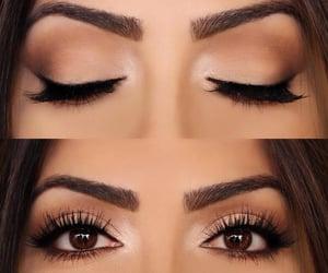 eyes, fashion, and maquillaje image