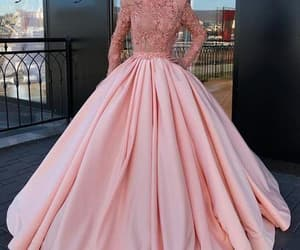 ball gown, robe de soirée, and prom ball gown image