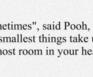 pooh, quote, and heart image