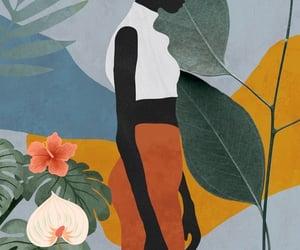 art, minimal, and plants image