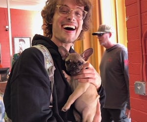 criminal minds, matthew gray gubler, and dog image