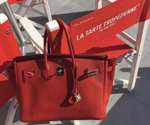 hermes, luxury, and red image