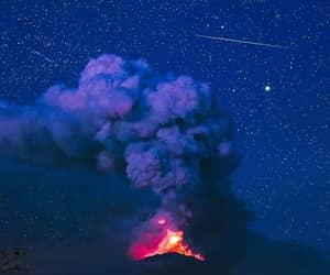 bali, milky way, and shooting star image