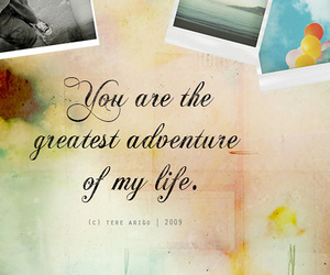 adventure, quote, and love image