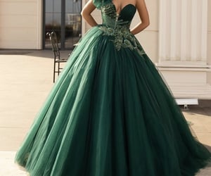 Couture, dress, and formal image