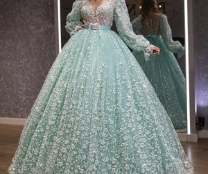 ballgown, Couture, and dress image