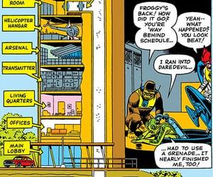 base, hq, and marvel comics image