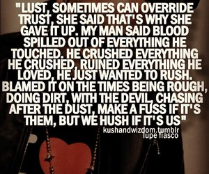 lupe fiasco, real, and quote image
