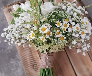 beautiful, flores, and bouquet image