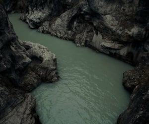 green, river, and water image