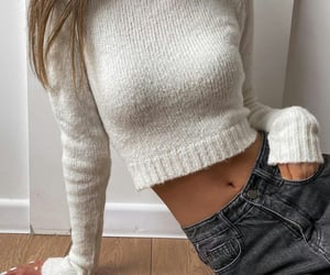 autumn, outfit, and jeans image